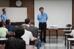 2017年7月 防災講習会2