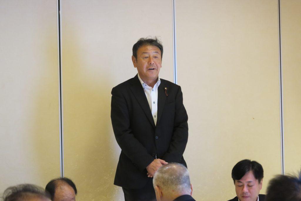 守山支部 高木治夫前支部長・安藤ユミ前女性部長 慰労会8