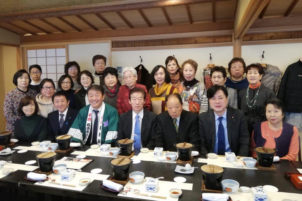 守山支部 女性部 新春懇親会 2019