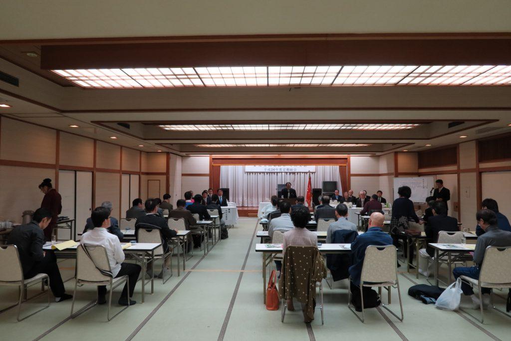 平成26年度 愛知県理容生活衛生同業組合 守山支部 定期総会3